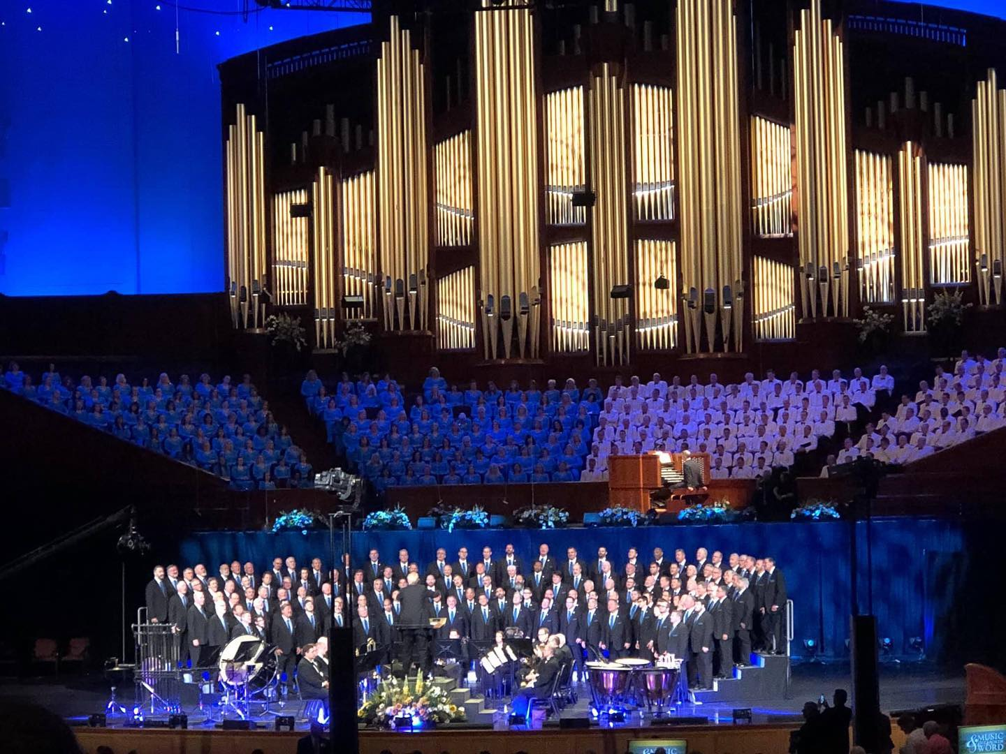The Tabernacle Choir and the Vocal Majority, July 7, 2019, Salt Lake City