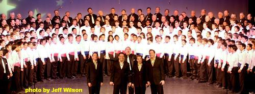 The Masters of Harmony histed the 11th Annual festival at Costa Mesa's Orange Coast College